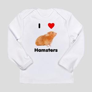 I love hamsters Long Sleeve Infant T-Shirt