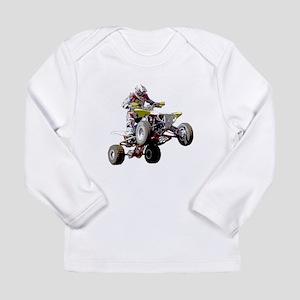 ATV Racing (color) Long Sleeve Infant T-Shirt