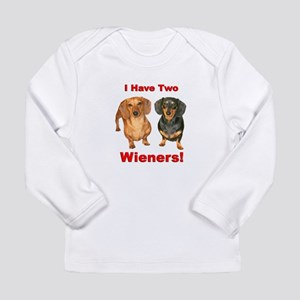 Two Wieners Long Sleeve Infant T-Shirt