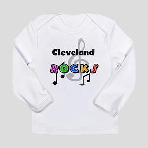 Cleveland Rocks Long Sleeve Infant T-Shirt
