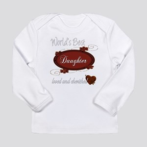 Cherished Daughter Long Sleeve Infant T-Shirt