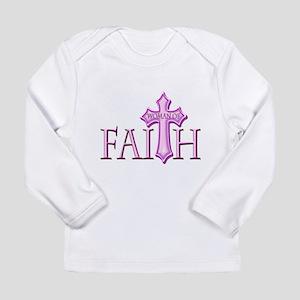 Woman of Faith Long Sleeve Infant T-Shirt