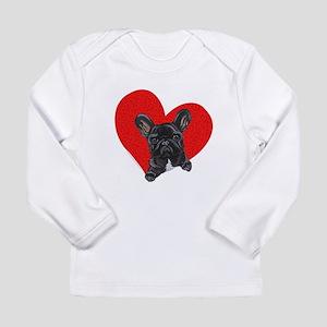 French Bulldog Love Long Sleeve Infant T-Shirt