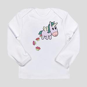 unicorncakesflip2 Long Sleeve T-Shirt