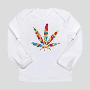 Rainbow Hippie Weed Long Sleeve T-Shirt
