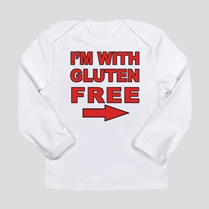 I'm With Gluten-Free Long Sleeve Infant T-Shirt