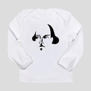 Simple Shakespeare Long Sleeve Infant T-Shirt