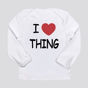 I heart thing Long Sleeve Infant T-Shirt