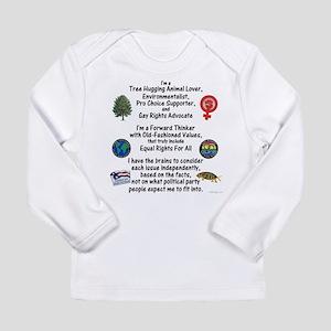 Independent Thinker Long Sleeve Infant T-Shirt
