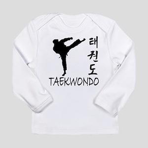Taekwondo Long Sleeve Infant T-Shirt