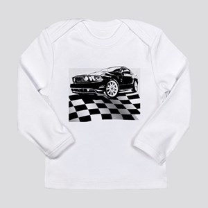 2011 Mustang Flag Long Sleeve Infant T-Shirt