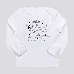 Music is Me Long Sleeve Infant T-Shirt