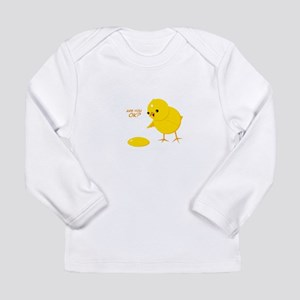 Are you ok? Long Sleeve Infant T-Shirt