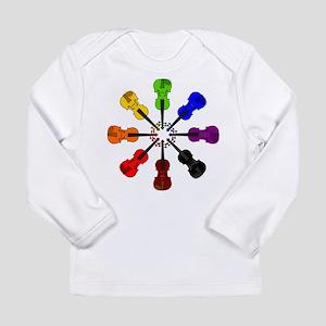 Circle of Violins Long Sleeve Infant T-Shirt