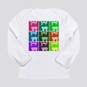 Wheaton Terrier Pop Art Long Sleeve Infant T-Shirt