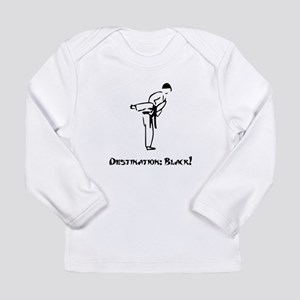Destination Black Belt Long Sleeve Infant T-Shirt