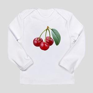 Cherries Cherry Long Sleeve Infant T-Shirt