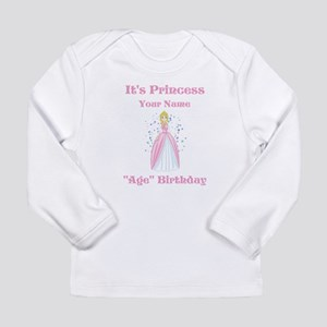 Princess Personalized Birthda Long Sleeve Infant T
