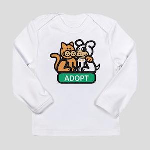 adopt animals Long Sleeve Infant T-Shirt
