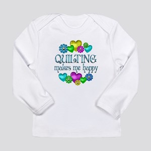 Quilting Happiness Long Sleeve Infant T-Shirt