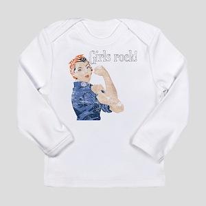 Girls Rock! (vintage) Long Sleeve Infant T-Shirt