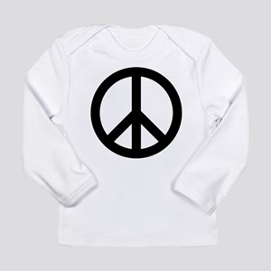Peace Out Long Sleeve Infant T-Shirt