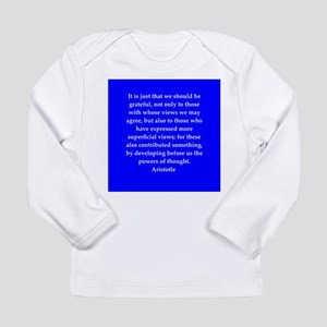 Wisdom of Aristotle Long Sleeve Infant T-Shirt