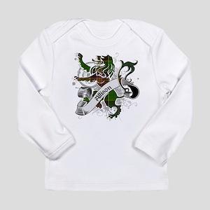 Allison Tartan Lion Long Sleeve Infant T-Shirt