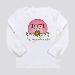 1971 Spanish Year Long Sleeve Infant T-Shirt