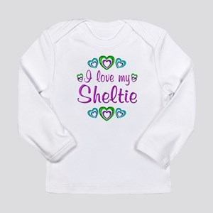 Love My Sheltie Long Sleeve Infant T-Shirt