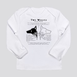 Two Wolves Long Sleeve Infant T-Shirt
