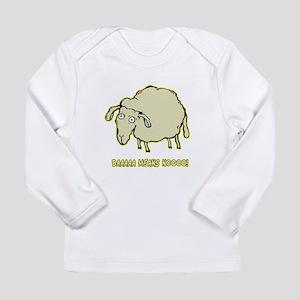 Baaaa Means Nooo! Long Sleeve Infant T-Shirt