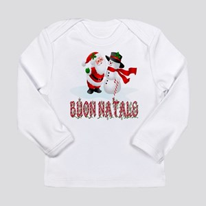 Buon natale Long Sleeve Infant T-Shirt