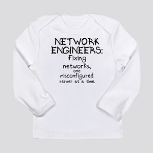 Network Engineers Long Sleeve Infant T-Shirt