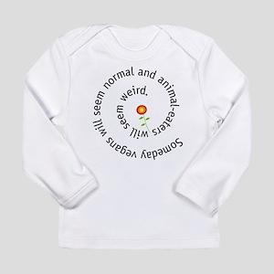 Normal vegan Long Sleeve Infant T-Shirt