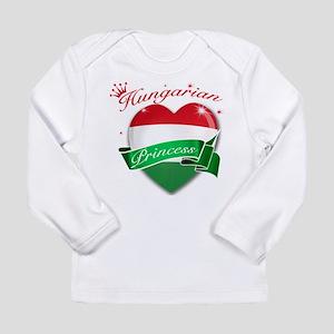 Hungarian Princess Long Sleeve Infant T-Shirt