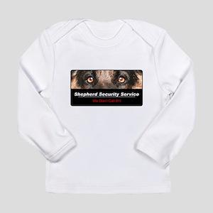 Shepherd Security Service Long Sleeve Infant T-Shi
