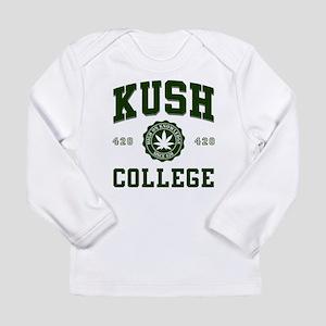 KUSH COLLEGE-2 Long Sleeve T-Shirt