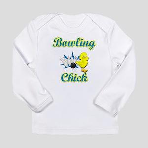 Bowling Chick #2 Long Sleeve Infant T-Shirt