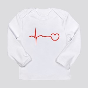 Heartbeat Long Sleeve Infant T-Shirt
