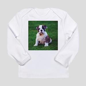 Cute Bulldog Long Sleeve Infant T-Shirt
