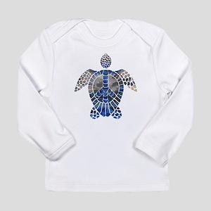 Sea Turtle Peace Long Sleeve Infant T-Shirt