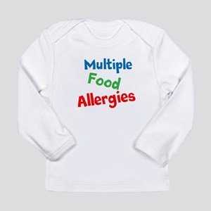 Multiple Food Allergies Long Sleeve T-Shirt