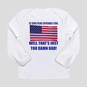 Flag3a Long Sleeve Infant T-Shirt