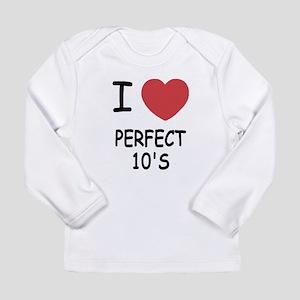 I heart perfect tens Long Sleeve Infant T-Shirt