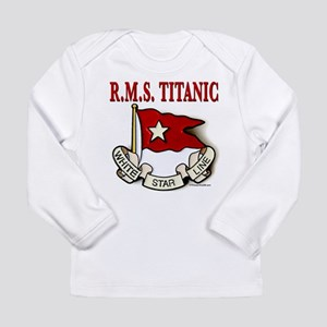 White Star Line: RMS Titanic Long Sleeve Infant T-