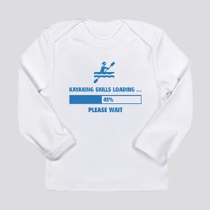 Kayaking Skills Loading Long Sleeve Infant T-Shirt