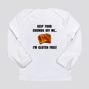 Crumbs Off Me Gluten Free Long Sleeve Infant T-Shi