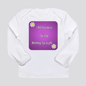 Phlebotomist by day Mommy by night Long Sleeve Inf