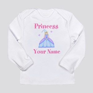 Blond Princess Personalized Long Sleeve Infant T-S